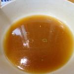 永福町大勝軒 - 麺の触感が優しく完食しても胃もたれしない。