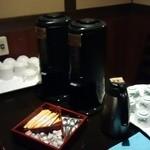 わさびの花 - セルフのコーヒー