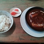 34432906 - ランチ(牛肉と野菜のシチュー)