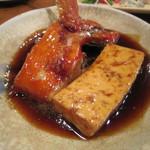 魚がし料理佃喜知 - 「金目鯛豆腐煮」