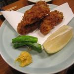 魚がし料理佃喜知 - 「カキフライ」