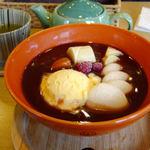 マルホカフェ - 料理写真:マルホパフェ風ぜんざい