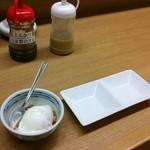 渡来亭 - 自家製のタレ