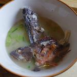 塩湯 - ホゴの味噌汁