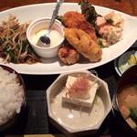 うお・みっつ 新宿店 - 男のガッツリ飯! 850円