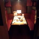 北の味紀行と地酒 北海道 - 6人席