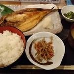 ご当地酒場 北海道八雲町 - ほっけ焼き定食