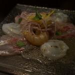 肉バル NORICHANG - 朝獲れ鮮魚のカルパッチョ