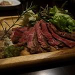 肉バル NORICHANG - かづの短角牛 サーロイン