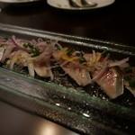 肉バル NORICHANG - 炙り〆鯖のマリネ