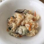 焼がき 大豊 - 牡蠣ご飯