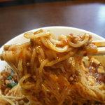 本格中華料理点心 純太楼 - 肉が絡んで辛旨。