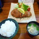 3444836 - 特選ロースかつ定食(2,500円)