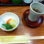 3444839 - お茶とお新香