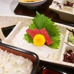 川勝 - うなぎ定食 特上(お造り)