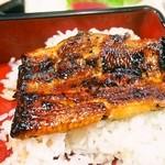 川勝 - うなぎ定食 特上(鰻蒲焼 オン ザ ライス)