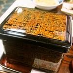 川勝 - うなぎ定食 特上(お重)