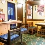 川勝 - 店内