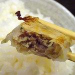 らーめん 耀 - 料理写真:ぎょうざ5コ350円