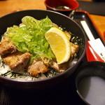 34441213 - ネギ塩カルビ丼(1000円)