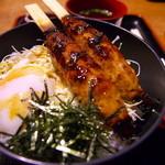 34441215 - つくね温玉丼(900円)