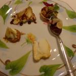 モナリザ - 2015年1月「18周年記念メニュー」チーズの盛り合わせ
