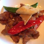 34444689 - 豚肉と野菜の豆豉炒め