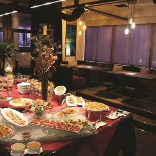 宴会やパーティできるスペースもあります!