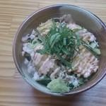 34447203 - ミニお魚明太マヨネーズ丼