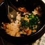 34448596 - 炊き込み土鍋ご飯。正式名称忘れ…