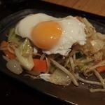 34449488 - 週替わり500円ランチ:がっつり!野菜炒め定食