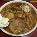 龍栄 - スタミナ丼 大盛 850円