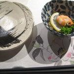 ぎゃらりぃ栞屋 - 突き出し&取り皿&箸