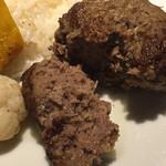 じゅう - お肉しっかりなハンバーグ