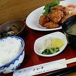 さか本 - 唐揚定食  750円