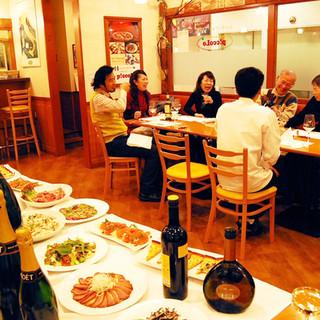 大盛況!!【ピッコロオリジナル企画】こだわりワイン試飲会!!