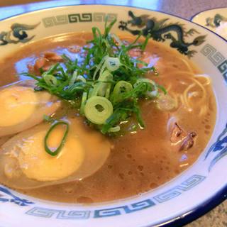 にぼし家 - 料理写真:煮玉子ラーメン