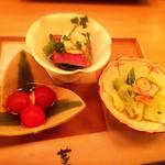 34463212 - おばん菜三種
