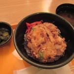 空カフェ - 料理写真:白エビかき揚げ丼 700円