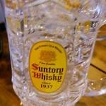 居酒屋 葉牡丹 - 樽杯 レモン 350円→333円+税