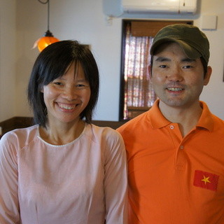 ベトナム人の妻、日本人の夫、日本人の口に合う本格ベトナム料理
