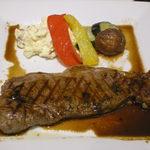 バッカス - アンガス牛のステーキ