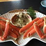 お食事処 はまさか - 越前蟹(15000円)