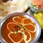 インドレストラン&バー マタ - チキンカレー。