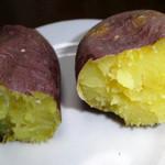 谷保天満宮 - 料理写真:2015年1月の壺焼き芋