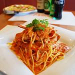 ピッコロ - 渡り蟹のトマトクリームソース
