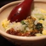 梶川 - 河豚のから揚げ雑炊