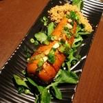 土龍 mogura - 名物「にんじんの丸ごとステーキ キャラメル生姜醤油」