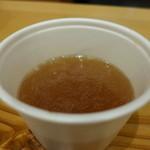 ドライバーズ・スポット天神屋 - おでん汁、いただけました。