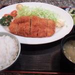 34477143 - チキンカツ定食